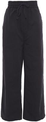 McQ Cotton And Linen-blend Wide-leg Pants