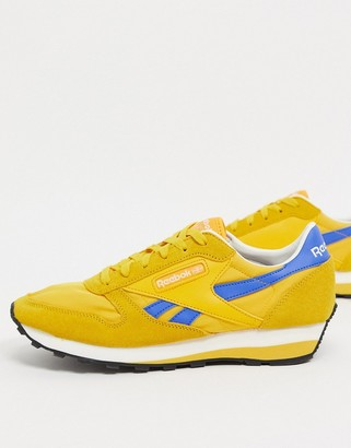 Reebok Classic Leather AZ sneakers in gold