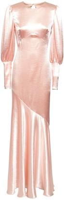 Philosophy di Lorenzo Serafini Flared Satin Long Dress