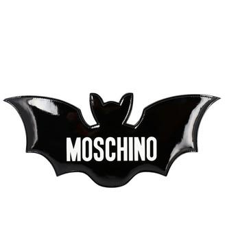 Moschino Crossbody Bags Bat-shaped Bag With Big Logo