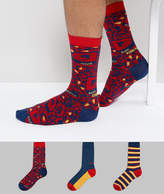 Diesel Socks 3 Pack Gift Set