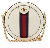 Gucci Ophidia Leather Cross-body Bag - Womens - White