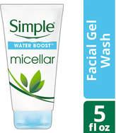 Simple Water Boost Micellar Facial Gel Wash