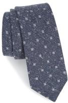The Tie Bar Men's Medallion Ridges Silk Tie