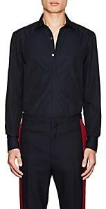 Lanvin Men's Cotton Poplin Dress Shirt-Navy
