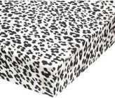 H&M Leopard-print Fitted Sheet - Light gray/black