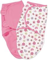 Summer Infant SwaddleMe 2-Pack Cotton, Flutter Flower
