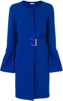 P.A.R.O.S.H. bell sleeved coat - women - Polyester/Spandex/Elastane - S