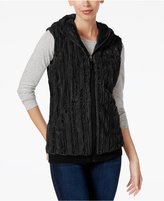 The North Face Furlander Faux-Fur Hooded Fleece Vest
