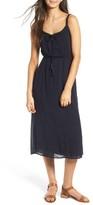Lush Women's Ladder Trim Midi Dress