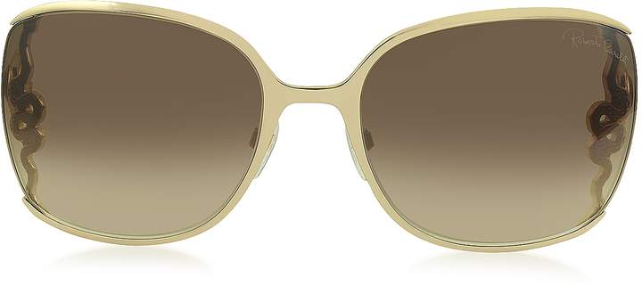 Roberto Cavalli WASAT 1012 Metal Square Oversized Women's Sunglasses