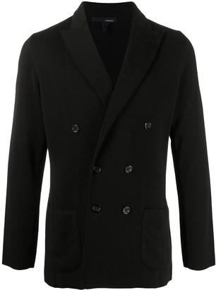 Lardini Double Breasted Blazer Cardigan
