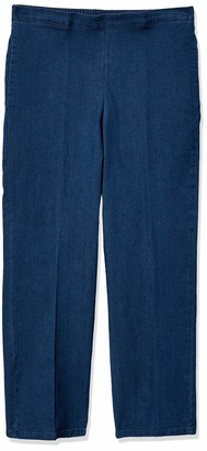 Alfred Dunner Women's Proportioned Short Denim Pant 12