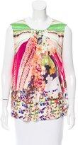 Mary Katrantzou Printed Sleeveless Top