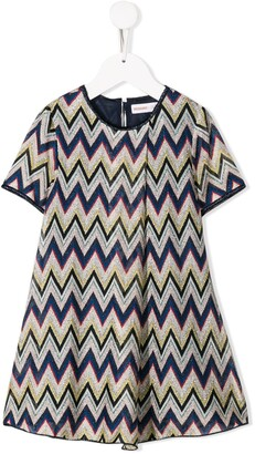 Missoni Kids Zigzag Knitted Dress