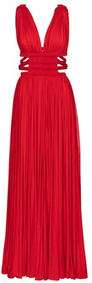 Alaia Edition 2004 pleated jersey gown