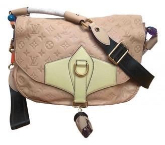 Louis Vuitton Beige Leather Handbags