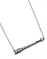 Archive Rhinestone Arrow Necklace