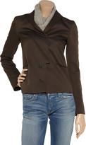 Jil Sander Asymmetric twill jacket