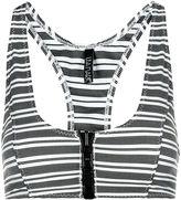 Lisa Marie Fernandez Black Striped Ekisa Bra Top