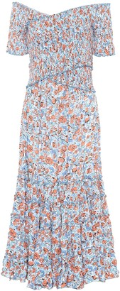 Poupette St Barth Exclusive to Mytheresa Soledad floral maxi dress