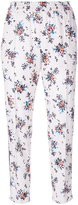 MSGM floral trousers - women - Polyamide/Polyester - 40