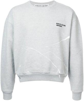 Enfants Riches Deprimes Fleece Crew Neck Sweatshirt