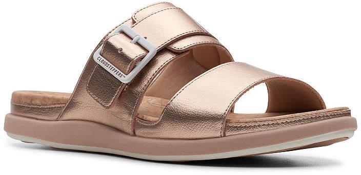 0ec5854477fb Clarks Pink Women s Sandals - ShopStyle