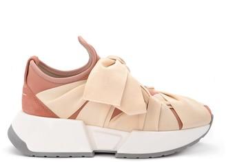 MM6 MAISON MARGIELA Pale Pink Neoprene Sneaker