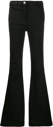 PT05 High Waisted Flared Jeans