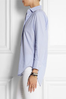 Equipment Tate striped cotton shirt