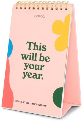 ban.do Best Year Ever Desk Calendar, 2021