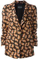 Emporio Armani printed blazer - women - Silk/Polyester/Acetate - 40