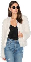 Greylin Natalie Faux Fur Jacket