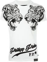 Philipp Plein 'Double Tiger' T-shirt - men - Cotton - S