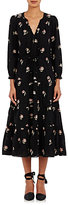 Ulla Johnson Women's Clementine Midi-Dress-Black