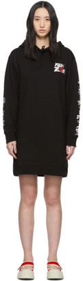 Kenzo Black Limited Edition Chinese New Year Kung Fu Rat Short Dress
