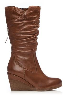 Moda In Pelle Lamello Tan Leather