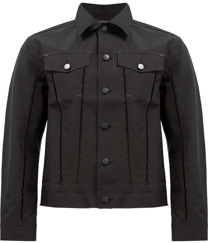 Yang Li matte button denim jacket