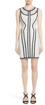 Herve Leger Women's Zigzag Bandage Dress