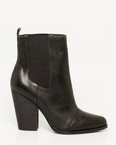 Le Château Leather Block Heel Ankle Boot