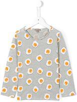 Emile et Ida 'Gris Chine Ao Eggs' T-shirt