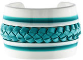 Tod's Braided Leather Cuff
