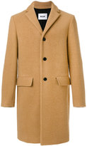 MSGM single-breasted coat - men - Polyamide/Polyester/Acetate/Virgin Wool - 48