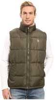 U.S. Polo Assn. Signature Vest with Inner Sherpa Collar