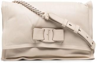 Salvatore Ferragamo Bow-Detail Padded Crossbody Bag