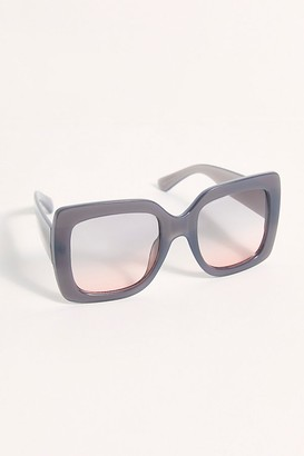 Free People Sugar Oversized Square Sunglasses