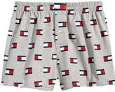 Tommy Hilfiger Men's Modern Essentials Logo-Print Knit Cotton Boxers