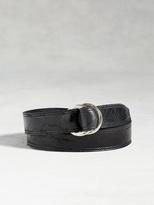 John Varvatos Artisan Pull Back Belt