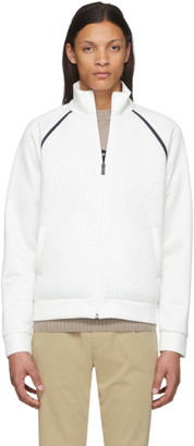 Fendi White Mesh Forever Jacket